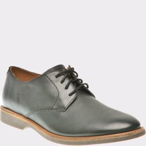 Pantofi CLARKS negri, 6136155, din piele naturala
