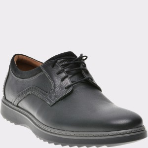 Pantofi CLARKS negri, 6136809, din piele naturala