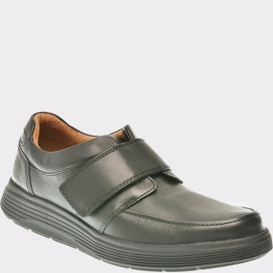 Pantofi CLARKS negri, 6136986, din piele naturala
