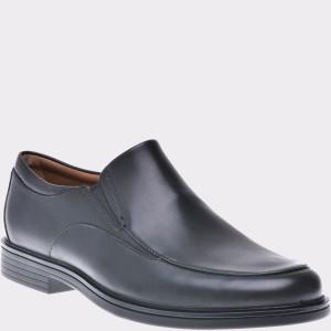 Pantofi CLARKS negri, 6137351, din piele naturala