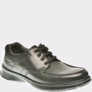 Pantofi CLARKS negri, 6137385, din piele naturala
