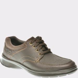 Pantofi CLARKS maro, 6119803, din piele naturala