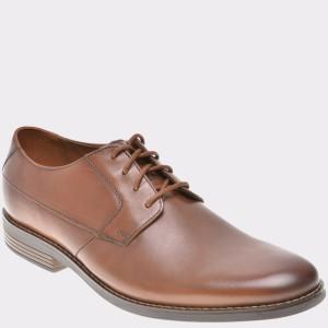 Pantofi CLARKS maro, 6124175, din piele naturala