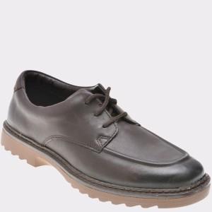 Pantofi Pentru Copii Clarks Maro, 6134981, Din Piele Naturala