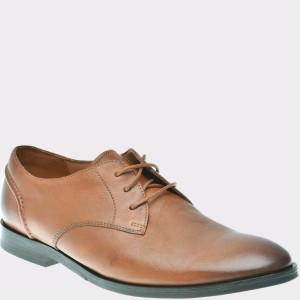 Pantofi CLARKS maro, 6135432, din piele naturala