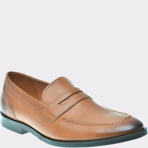 Pantofi CLARKS maro, 6135434, din piele naturala