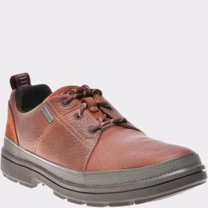 Pantofi CLARKS maro, 6135556, din piele naturala
