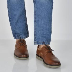 Pantofi CLARKS maro, 6136758, din piele naturala