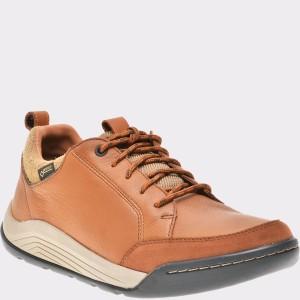 Pantofi CLARKS maro, 6137852, din piele naturala