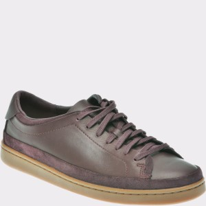Pantofi CLARKS mov, 6137103, din piele naturala