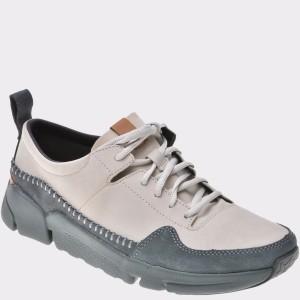 Pantofi CLARKS gri, 6134842, din nabuc