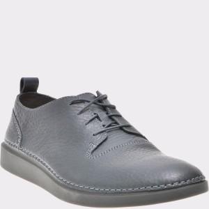 Pantofi CLARKS gri, 6135874, din piele naturala
