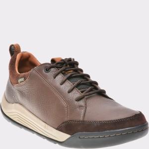 Pantofi CLARKS maro, 6135401, din piele naturala