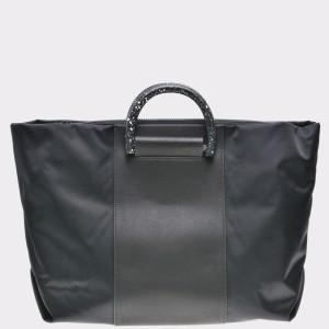 Poseta CLARKS neagra, 6135703, din material textil