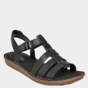 Sandale CLARKS negre, Blakjew, din piele naturala