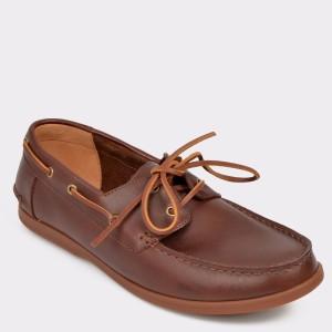 Pantofi CLARKS maro, Morvsai, din piele naturala