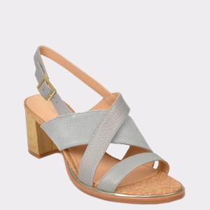 Sandale CLARKS bleu, Ellitil, din piele naturala