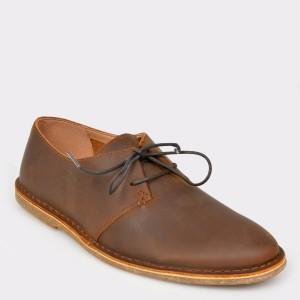 Pantofi CLARKS maro, Baltlac, din piele naturala
