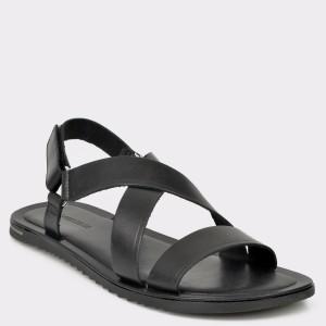 Sandale SALAMANDER negre, 75105, din piele naturala