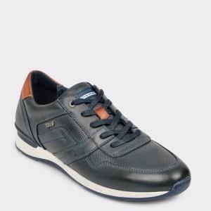 Pantofi sport SALAMANDER bleumarin, 56201, din piele naturala