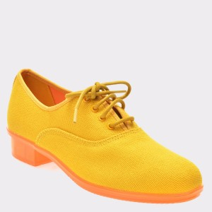 Pantofi CAMPER galbeni, K200565, din material textil