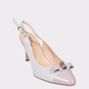 Pantofi FLAVIA PASSINI multicolori , E1476Hy, din piele naturala