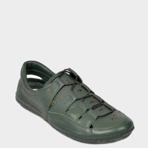 Pantofi FLAVIA PASSINI verzi, 19118, din piele naturala