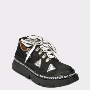 Pantofi FLAVIA PASSINI negri, Gm3031, din piele naturala