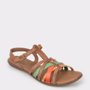 Sandale FLAVIA PASSINI maro, 36917, din piele naturala