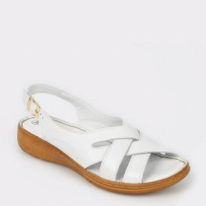 Sandale FLAVIA PASSINI albe, 817, din piele naturala