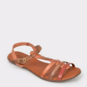 Sandale FLAVIA PASSINI maro, 36903, din piele naturala