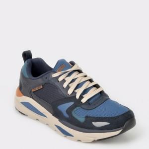 Pantofi sport SKECHERS bleumarin, 66020, din material textil