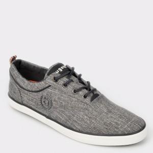 Pantofi BUGATTI gri, 50204, din material textil