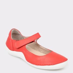 Pantofi FLAVIA PASSINI rosii, 1500, din piele naturala
