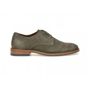 Pantofi gri, 3052269, din piele intoarsa