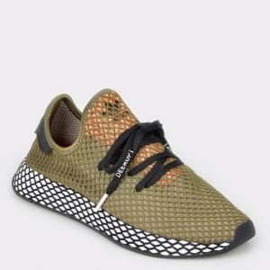 Pantofi sport ADIDAS kaki,D78949, din material textil