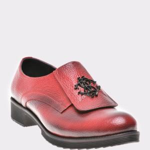 Pantofi FLAVIA PASSINI rosii, Or822, din piele naturala