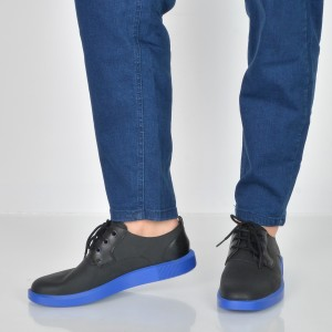 Pantofi Camper Negri, K100356, Din Piele Naturala