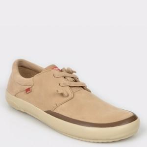 Pantofi CAMPER bej, K100414, din piele naturala