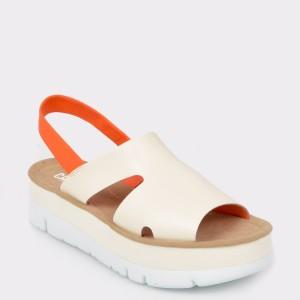 Sandale CAMPER bej, K200848, din piele naturala