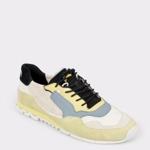 Pantofi CAMPER crem, K100436, din piele ecologica