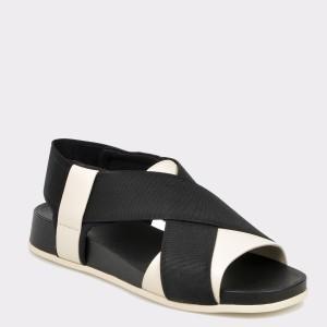 Sandale CAMPER negre, K200802, din material textil