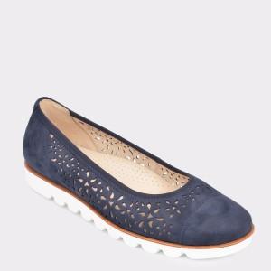 Pantofi GABOR bleumarin, 22423, din nabuc