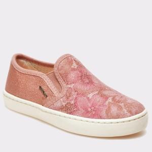 Pantofi Pentru Copii Geox Roz, J62d5d, Din Piele Naturala