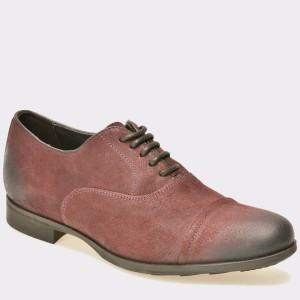 Pantofi Geox Visinii, U641xb, Din Piele Intoarsa