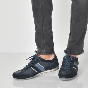 Pantofi Sport Geox Bleumarin, U52t5c, Din Piele Intoarsa