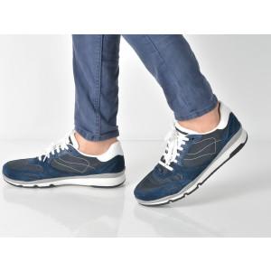 Pantofi Sport Geox Bleumarin, U72a6a, Din Material Textil