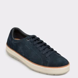 Pantofi GEOX bleumarin, U925Qd, din piele intoarsa