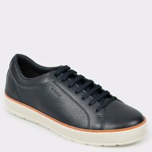 Pantofi sport GEOX bleumarin, U925Qc, din piele naturala