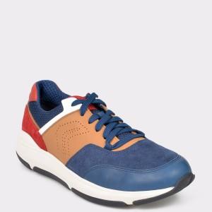 Pantofi sport GEOX multicolori, U926La, din piele ecologica